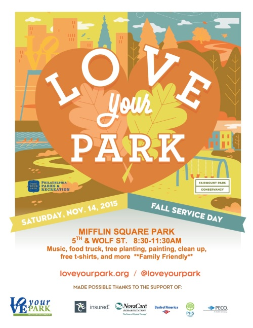 Love Your Park - Fall 2015